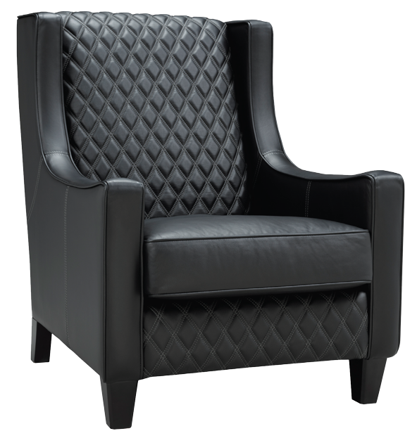 Top Grain Leather Chair by LeatherCraft Furniture - Best Manufacturer of High Quality Genuine Leather Chairs.